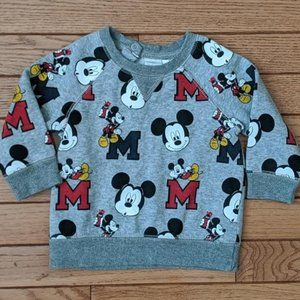 H&M Disney Mickey Mouse Sweat Shirt
